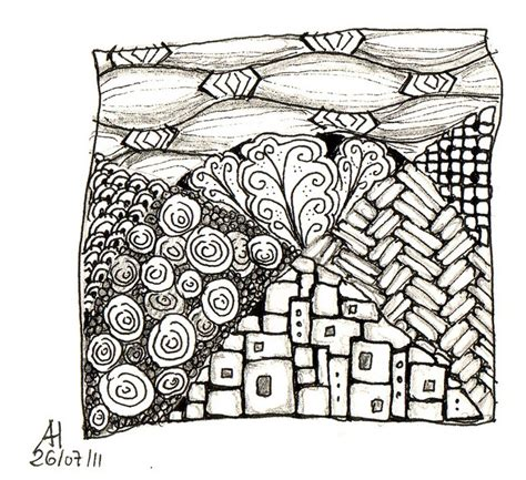 zentangle basket pattern 68 best houses zentangle doodle images on pinterest