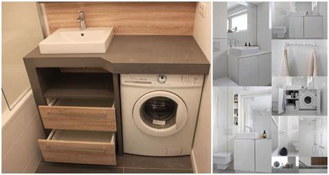 small bathrooms  washing machines ideas  love