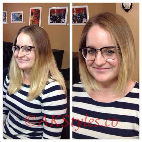 before and after pictures of bob haircuts 1000 images about hair before and after on pinterest