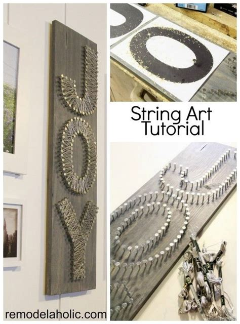 Diy String Tutorial - diy letter ideas tutorials hative