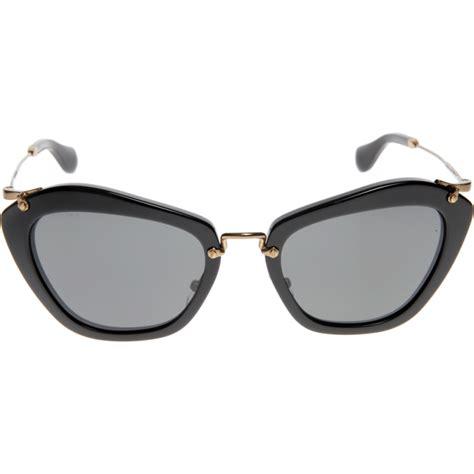 miu miu mu 10ns 1ab1a1 55 sunglasses shade station
