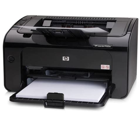 Buy Hp Laserjet Pro P1102w Monochrome Wireless Laser Hp Laser Color Printer L