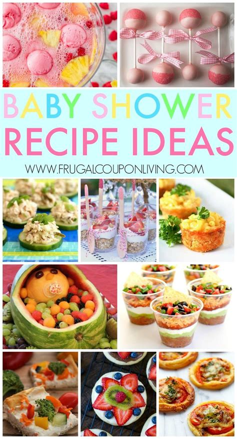 baby shower foods recipes tips for throwing a baby shower baby shower recipes and