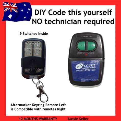 homelink compatible garage door opener remote compatible with accent garage doors black
