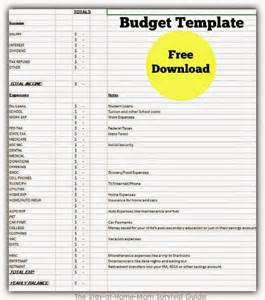 setting up your home budget free download the stay at