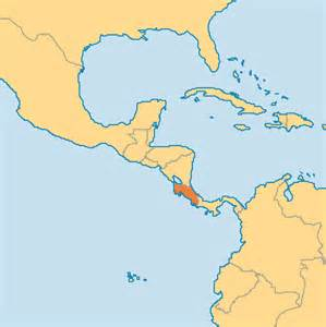 Costa Rica Map World by World Map Costa Rica