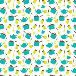 kitchen pattern clipart kitchen utensils crockery seamless pattern