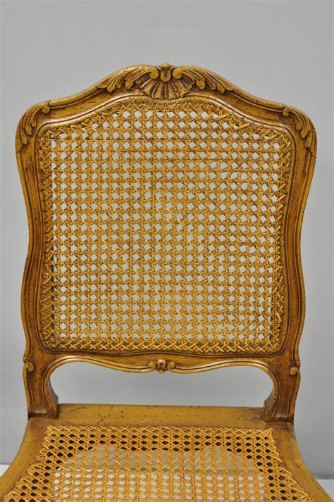 french country provincial style walnut  cane
