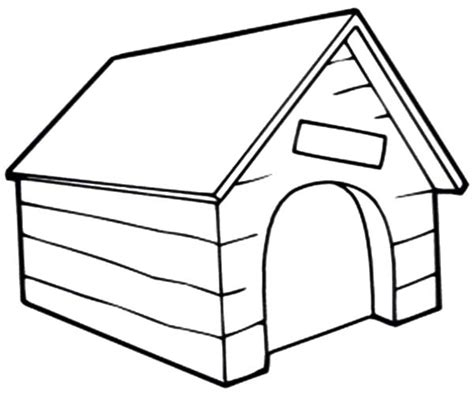dog house for inside dog house coloring page kids dog house clipart clipartfest inside vintage coloring