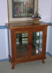 Small China Cabinet Display Handmade Small China Cabinet By Dunbar Woodworking Designs Custommade