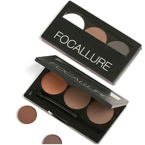 Eyeshadow Focallure Harga focallure eyebrow powder virdayshop