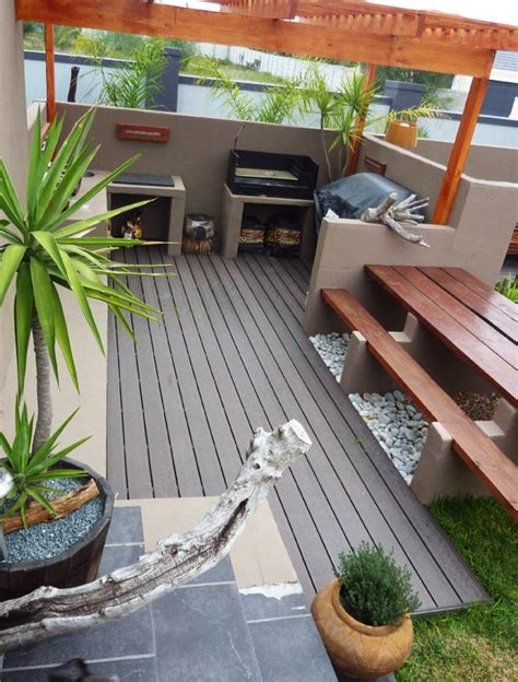 Bbq Or Braai Area Eva Tech Deck Http Www Eva Tech Com Patio Braai Designs