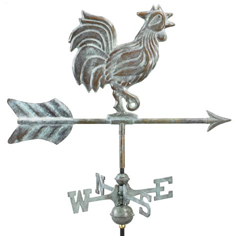 Rooster Weather Vanes Directions Rooster Weathervane 802v1g