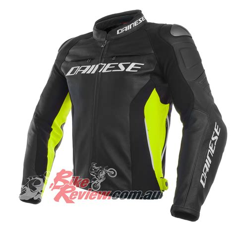 bike racing jackets dainese racing 3 leather his jackets bike review
