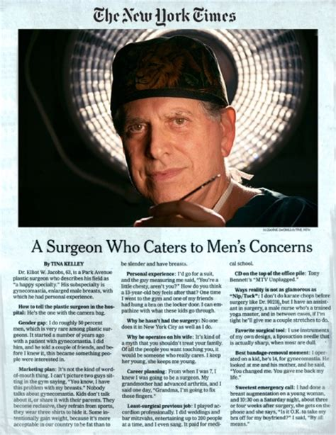 nipple tattoo new york times dr elliot jacobs nationally recognized chest surgeon in