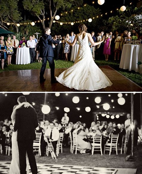 backyard wedding dance floor how to throw a backyard wedding decor green wedding