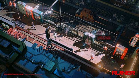 Ruiner is a neon bright swords and guns game that will