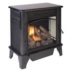 Fireplace Gas Heaters For Home by Product Procom Vent Free Dual Fuel Stove 23 000 Btu