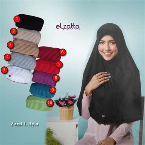 Ayla Gamis jilbab bergo elzatta zaria l ayla elzatta jual