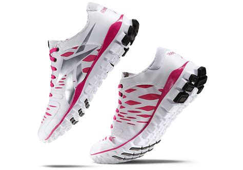 reebok realflex fusion tr pink ribbon sole collector