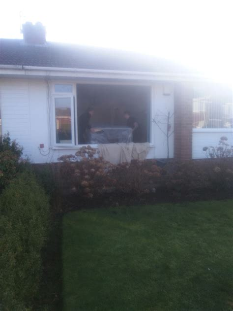 sofa delivery and removal remove window glass to allow sofa delivery newcastle