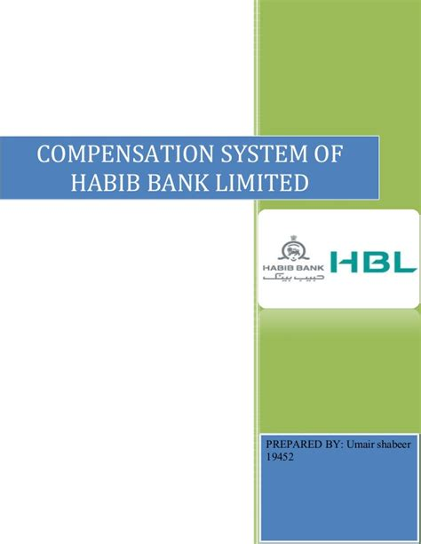 habib bank limited pakistan compensation report on habib bank