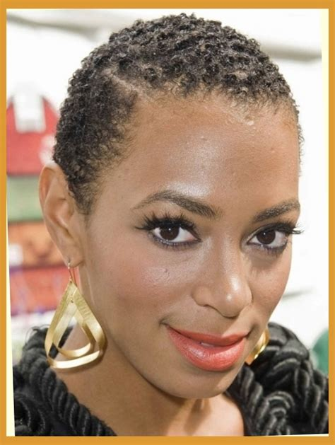 Big Chop Hairstyles by Image Gallery Solange Twa