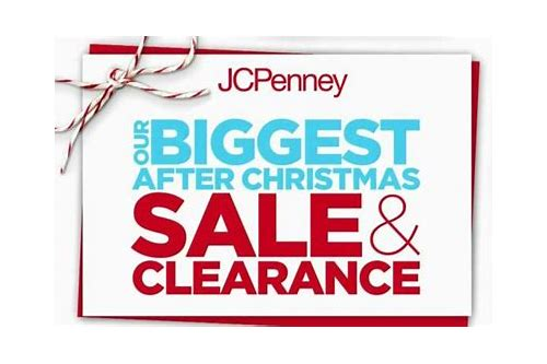 jcpenney day after christmas coupons