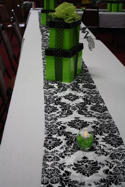66 best images about lime green and black wedding ideas on green garden weddings