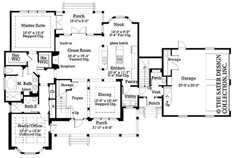 side garage floor plans side load garage home plans house design ideas