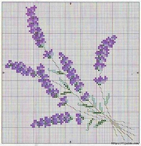 schemi punto croce fiori di lavanda oltre 25 idee originali per fiori a punto croce su