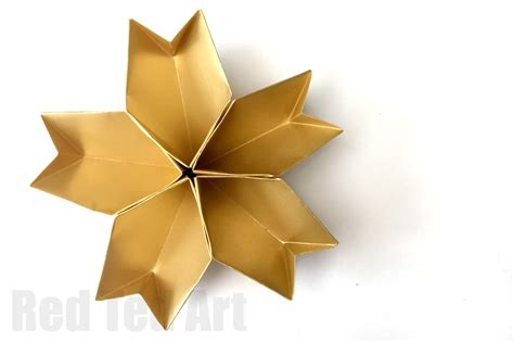 Great Origami - 3d paper bowl easy origami ted s