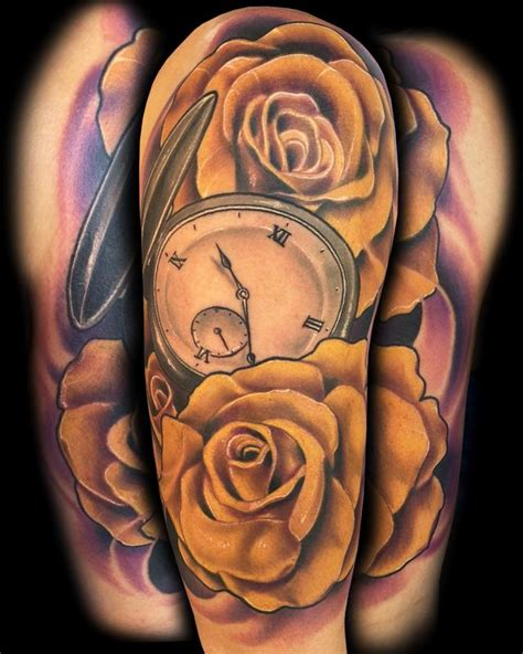 yellow roses tattoos yellow roses by miller tattoonow