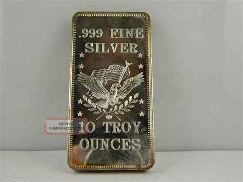 10 troy ounce 999 silver bar 10 troy oz 999 silver bar gs121