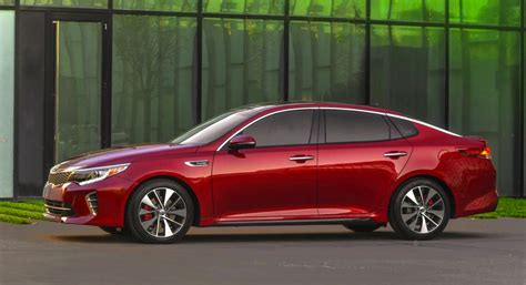 Kia Optima Turbo Performance 2016 Kia Optima Officially Unveiled At New York Show