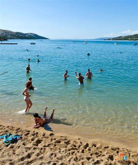 water scooter dubrovnik beach stara novalja island of pag croatia adriatic