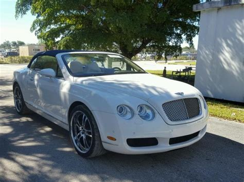 damaged bentley for sale salvage cars for sale 2008 bentley gtc