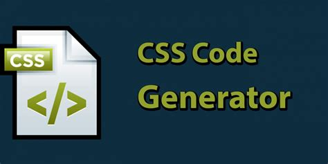 best css top free css code generator for developers on air code