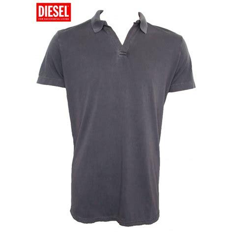 polo shirt diesel polo shirt grey taipp