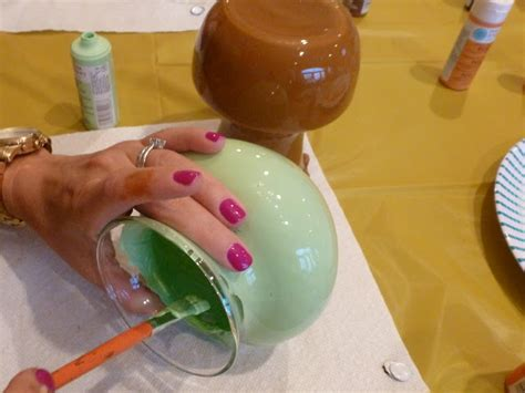 How To Paint On Glass Vases by Diy Painted Glass Vases Design Improvised
