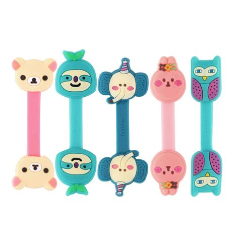 Animal Earphone Winder aliexpress buy animals cable winder clip