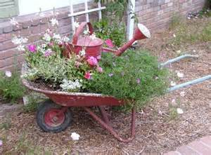 Wheelbarrow Planter by Wheelbarrow Planter Planter Ideas