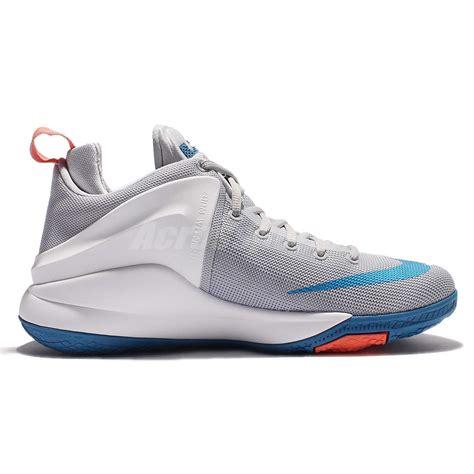 Nike Zoom Import nike zoom witness ep lebron grey blue mens basketball shoes 884277 004