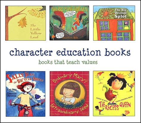 picture books to teach character traits best 25 list of character traits ideas on