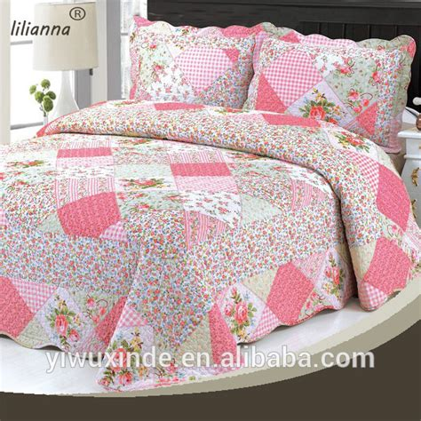 Cheap Quilts by Wholesale China Factory Cheap Patchwork Quilted Bedspreads