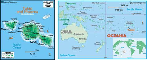map of tahiti tahiti travel information about tahiti island