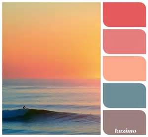 beachy paint colors sunset reference for c brown design color