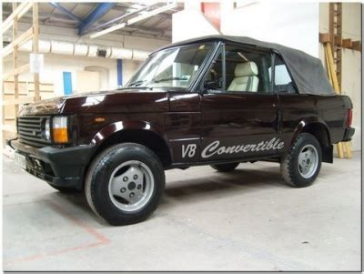 Range Rover Wod S Site History Celebrity Editions 1981
