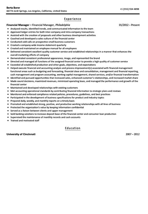 Resume For Automotive Finance Manager by Automotive Finance Manager Resume Exles Free