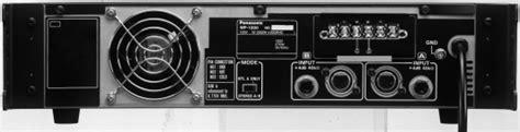 Power Lifier Ramsa ramsa wp 1200b g manuals users guides